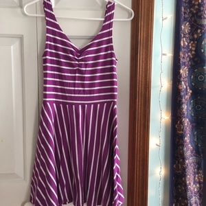 Dresses & Skirts - 2 for $18 🌞 Purple Striped Dress